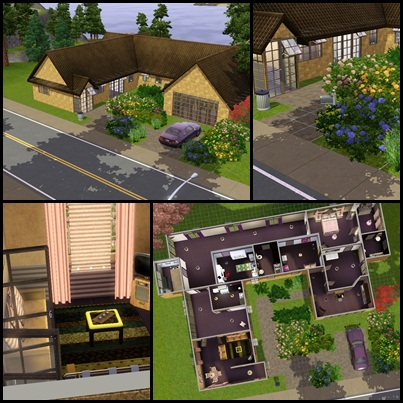 Casas con jardin the marina 39 s sims blog for Casas pvc para jardin